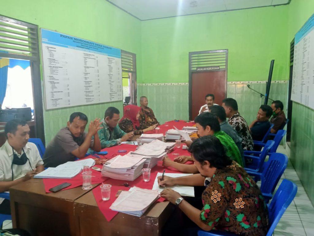 Rapat penyampaian SPPT PBB Desa Taman