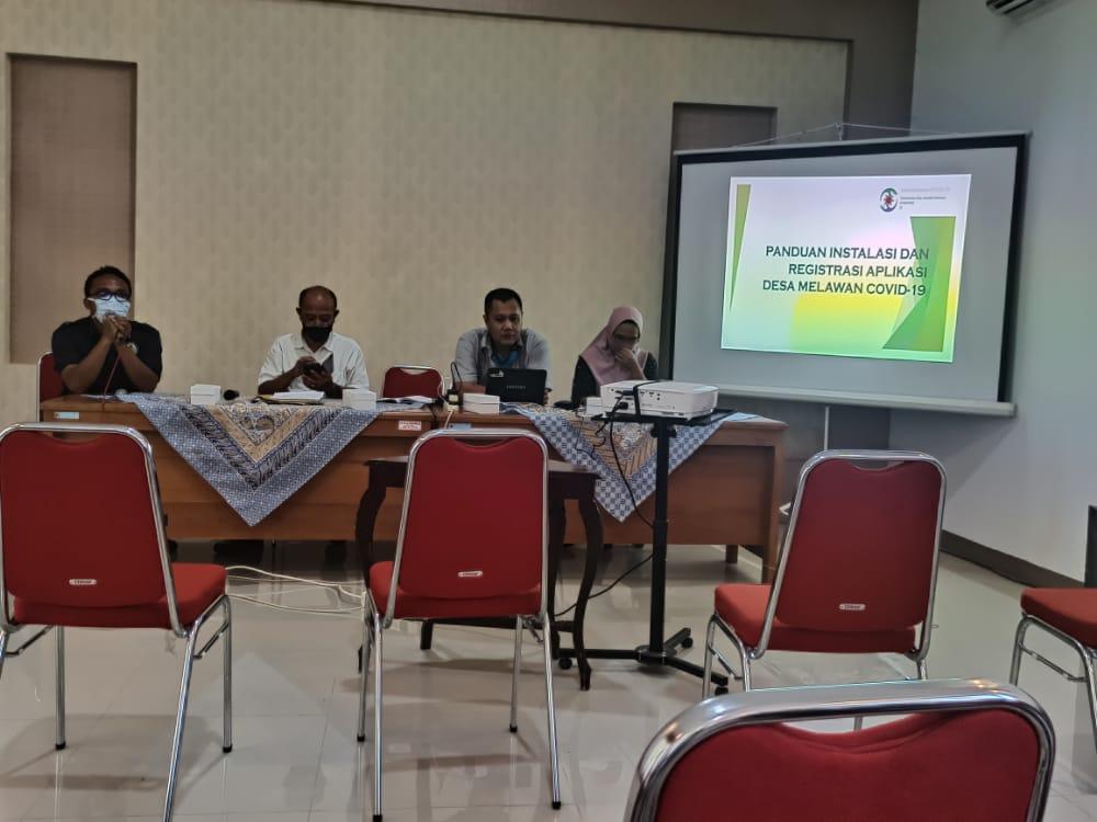 Pelatihan Aplikasi (eDMC) Desa Taman